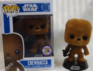 Flocked Chewbacca- $1,700.00