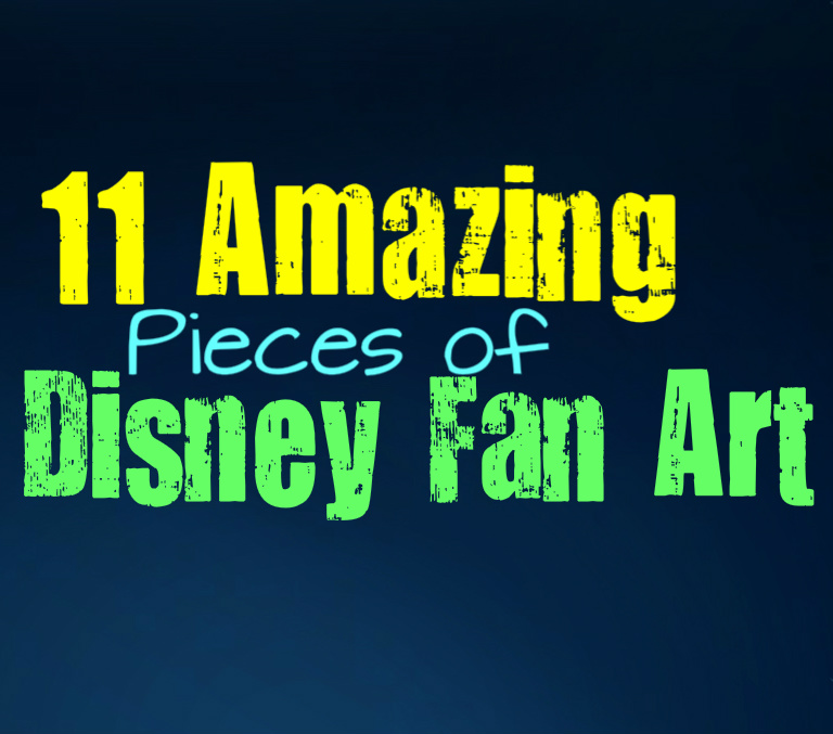 Disney You Re Amazing: 11 Amazing Pieces Of Disney Fan Art That Will Simply Blow