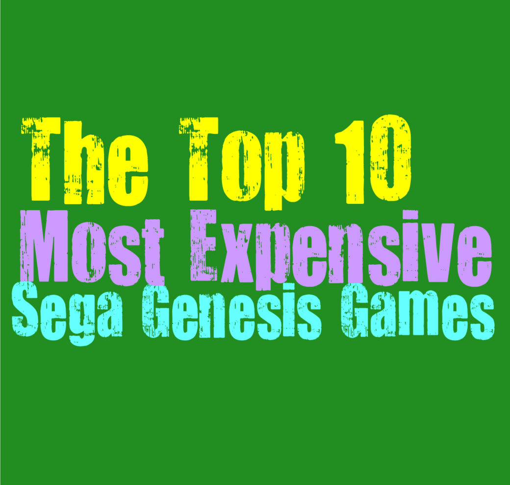 The Top 10 Rarest and Most Expensive Sega Genesis Games